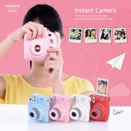 Wholesale Photo Field - Mini 8 Film Camera Photo Instant Camera Pop-up Lens Auto Metering Mini Camera Christmas gifts