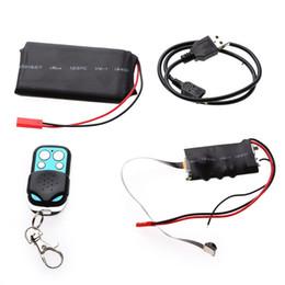 Wholesale Motion Audio - 32GB HD 1080P DIY Module MINI Pocket DV DVR Camera Portable Camcorder Video & Audio Recorder Motion with Remote Control & 3800mAh Battery