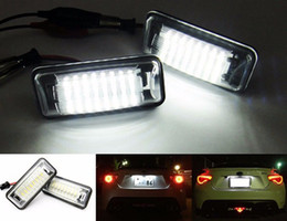 Wholesale Toyota Led License Plate Lights - Car LED License Plate Light 12V White SMD LED Lamp For Toyota Scion FR-S FT-86 GT-86 For Subaru XV Impreza Legacy BRZ WRX