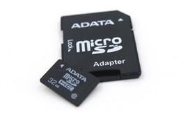 Wholesale Adata 64gb Dhl - 100% Genuine Full Capacity ADATA 1GB 2GB 4GB 8GB 16GB 32GB 64GB 128GB Micro SD card TF MicroSD Memory Card for Smartphones Car Dash DHL