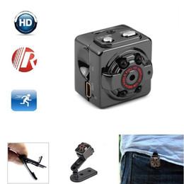 Wholesale Digital Voice Recorder Camcorder - HD 1080P 720P Sport Mini Camera SQ8 Mini DV Voice Video Recorder Infrared Night Vision Digital Small Cam Camcorder