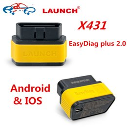 Wholesale Opel Android - Original Launch X431 EasyDiag plus 2.0 For Android&IOS X431 Easy Diag 2.0 with 2 free software full system car diagnostic tool