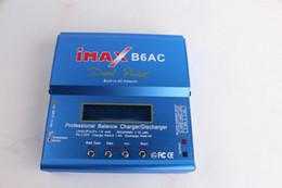100% iMAX B6-AC B6AC Lipo cargador de equilibrio de batería NiMH 3S RC brillante azul motores de rc al por mayor desde fabricantes