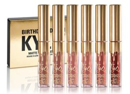 Wholesale Lip Gloss Wholesale Cosmetics - New Arrived !Cosmetics by Kylie Jenner Limited Birthday Edition Gloss In POPPIN 6 Different Colour lip golss
