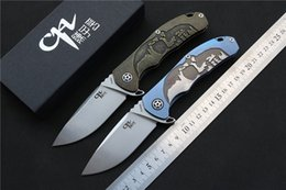 Wholesale End Ball Bearing - High-end CH CH3504 knife S35VN blade Ball bearing TC4 Titanium handle outdoor Camping Survival Folding Knife EDC tools