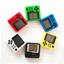 Wholesale Color Box Game - 2017 Game Consoles Retro Mini Puzzle Children Russian Box Game Console Random Color Portable LCD Players Educational Electronic Toys