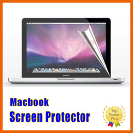 Wholesale Macbook Clear Cover - HD Ultra Clear Screen Protector LCD Guard Cover Film For Macbook Air Retina Pro 11 12 13 15 inch with Retail Packages