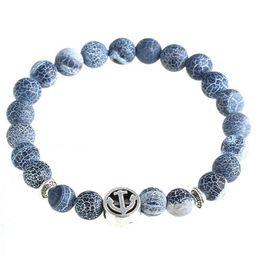 Wholesale Men Bracelet Jade - Lava Stone Beads Natural Stone Bracelet, Men Jewelry, Stretch Yoga Bracelet