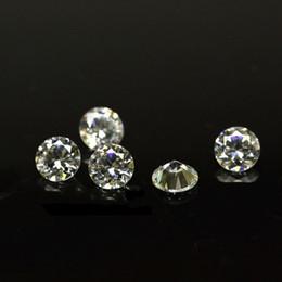 Bijoux en diamant en Ligne-Prix bon marché 1000pcs / lot 1.7mm-2.4mm 3A Qualité Laboratoire Créé Diamant Blanc Rond Zircon Cubique Lâche CZ Pierres Pour La Fabrication de Bijoux