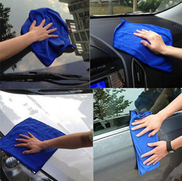 Wholesale Microfibre Cleaning Cloths Home Household Clean Towel Auto Car Window Wash Tools