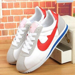 Wholesale Outdoor Leisure Shoes - Hot new 2016 men and women cortez shoes leisure nets shoes fashion outdoor shoes size 36-44 free shipping