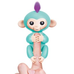 Wholesale Wholesale Toys For Chrismas - New Arrival Interactive Baby Monkey Finger Toys Monkey Electronic Smart Touch Fingers Monkey Toy 6 Colors for Chrismas Gift