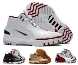 Wholesale Heat James - New Air Zoom Generation As Qs Basketball Shoes Men Red LBJ MVP LB Lebro James Trainers Shoe Mens Man Zapatilla Sport Replicas Sneakers