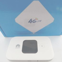 Wholesale Indoor Wifi Antennas - Huawei Mobile Wifi E5577s-321 Big Battery (White)+35dbi high gain omni indoor 4G antenna