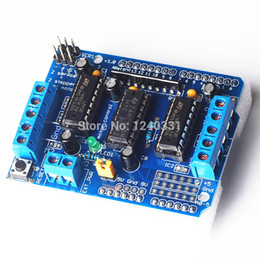 Wholesale Dropshipping Motor - Wholesale-Big Discount ! Motor Drive Shield L293D for Arduino Duemilanove Mega   UNO, Free Shipping , Dropshipping