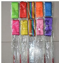 Wholesale Ribbon Batons - Hot Rhythmic Gymnastics Ribbon Pilates Baton Twirling Rod Stick Streamer Ribbons 4M Gym Dance 11colors