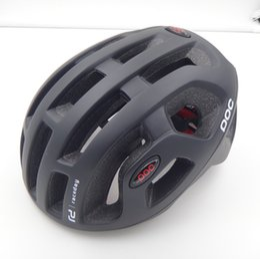 Wholesale Helmet Cycling Mountain Bike - poc Octal Raceday Road Helmet Cycling Men's Women's Eps Ultralight Mtb Mountain Bike Comfort Safety Cycle Bicycle Size L :54-61