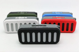 Wholesale Portable Speaker Boombox - TOP Quality Bluetooth Speaker Wireless Stereo Portable Loud speakers Bluetooth Boombox Super Bass music player support USB TF card