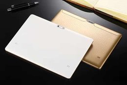 Tablet hd quad online-Tablet PC da 10,1 pollici Allwinner A33 con fotocamera con flash LED Android 6.0 schermo HD Quad Core 1.4 GHZ 1 GB / 16 GB Bluetooth
