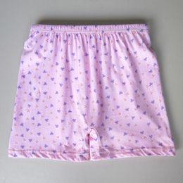 Wholesale Men S 4xl Underwear - Wholesale-Wholesale women cotton underwear Middle-aged and old man high waist shorts big yards pants are female cotton printed underwear