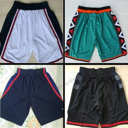 Wholesale Mesh Basketball Shorts - Cheap Basketball Shorts Quick Dry Breathable 1996 all star Sport Running Shorts 1992 2016 USA Dream Team Basket-ball Short Polyester Mesh