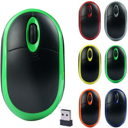 Wholesale Lowest Price Mini Laptop - Lowest Price Mini Wireless Mouse Lovely Design 2.4GHz Wireless Mouse Optical 3D Buttons Mice Receiver For Game Free Shipping