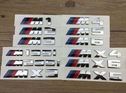 Wholesale Bmw M1 - 10pcs original ABS Plastic car emblem for BMW M1 M2 M3 M4 M5 M6 x3 x4 x5 x6 m135i m235i