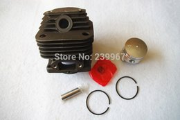 Wholesale Cheap Parts Tools - Cylinder & piston kit 39MM fits Mitsubishi T200 free shipping cheap brush cutter Cylinder kolben assy replacement part