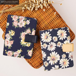 Wholesale Note Book Flower - Wholesale- Flower Notebook A6 Luxury Inner 120 Sheets 2017 Planner Sketchbook Diary Note Book Kawaii Journal Stationery School Supplies