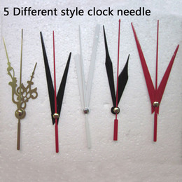 Wholesale News Free - 5 Set News Quartz Clock Movement For Clock Mechanism Repair Diy Clock Parts Accessories Shaft 16 .5mm Free Shipping Wholesale