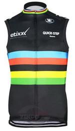 Canada WINDSTOPPER WINDPROOF 2015 ETIXX ÉQUIPE RAPIDE UCI NOIR SEULEMENT VESTE SANS MANCHES CYCLISME JERSEY CYCLISME DIMENSION: XS-4XL cheap black cycling vest Offre