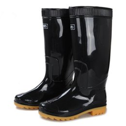 Wholesale Warrior Boots - Authentic Warrior Rain boots 807 Tall labor protection Men's Dichotomanthes Skid Wear Three anti Rain boots Water shoes overshoes wholesale