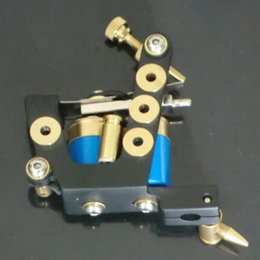 Wholesale Tattoo Machine Gun Case - Handmade Tattoo Machine Gun Shotgun Casing Iron Gun Unique Shader Tattoo Machine