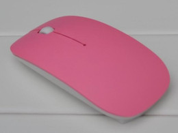 Wholesale Super Mini Usb Mouse - 2.4GHz Mini USB wireless mouse mice 10M working distance 2.4G receiver super slim mouse For Laptop Notebook computer mouse