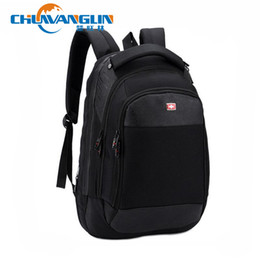 Wholesale Army Style Camping Backpack - Wholesale-ZDD5123 Men's backpack The package Saber bag waterproof business backpack men the knapsack camping hiking travel laptop