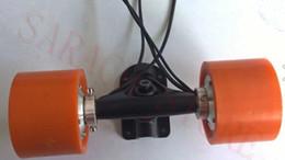 2019 caricabatterie hoverboard Motore del mozzo elettrico del motorino del longboard del pattino elettrico di 100W 36V del motore elettrico del hub
