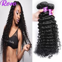 Wholesale bella weave - 50% Off Brazilian Deep Wave Hair Bundles 4Pcs 7a Mink Cheap Human Hair Weave Bella Hair No Tangle Fast Shipping Meches Bresilienne Lots