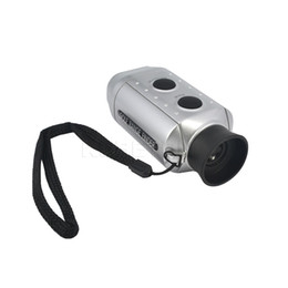 Wholesale Digital Laser Measuring - Wholesale-Handheld Laser rangefinder 7X Zoom Digital Meter Range Measure tools Golf Range Finder hunting monocular Telescope trena laser