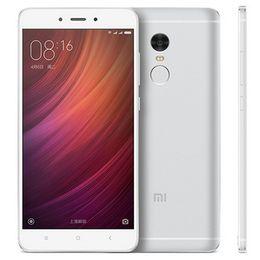 Original Xiaomi Redmi Note 4 4G LTE teléfono celular 3GB RAM 16GB / 32GB / 64GB ROM Helio X20 Deca Core Android 5.5