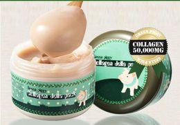 Crema di riempimento online-Crema di sale di latte di latte di latte set SET monouso sonno pelle tenera Riempimento di acqua Maschera di umidità Maschera di bellezza Maschera di argilla a bolle