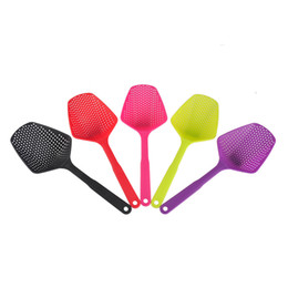 Wholesale Nylon Cooking - Large Nylon Strainer Scoop Basket Colander kitchen Accessories gadgets Drain Vegies water Scoop cozinha gadget cooking tools