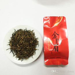 Wholesale Stomach Warmer - Black Tea Spring tea 100G New Hot sale Organic Red Tea WuYI mountain warm stomach TongMuGuan JinJunMei Improving digesttion Free Shipping