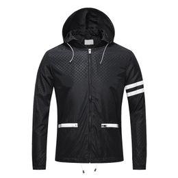 Wholesale Turtleneck Zipper Male - 3XL Men's Jackets Waterproof Spring Hooded Coats Men Women Outerwear Pure color Solid Casual Brand Male Clothing