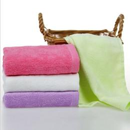 Asciugamano piccolo di lavaggio di bambino facecloth della fibra di bambù di modo brandnew 25x25cm da