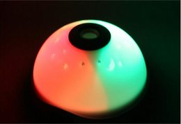 Wholesale Metal Alarm - DHL Fedex Free Starry Digital Magic LED Projection Alarm Clock Night Light Color Changing alarm clock metal