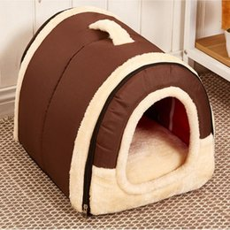 Wholesale Bedding For Dog Houses - Dog Bed Pet House Washable Pet Circular House Durable For Small Large Dog Cats Lovely Soft Pet Products