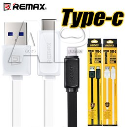 Wholesale Micro Usb Black - type c Remax Type-C Micro USB 1M Data Cable OnePlus Two Output 2.1A Sync Fast Charging Data Cable Not Original
