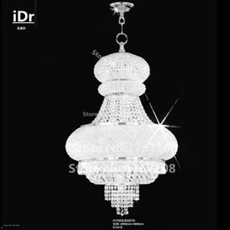 Chrom Gold Moderne Kronleuchter Rabatt Moderne Klassische Personality18  Lichter Kuppel Korb Kristall Kronleuchter Chrom Finish