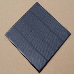 Wholesale Crystalline Solar Cells - 6V 4.5W 720mAh 165*165mm mono-crystalline solar cell panel for mobile