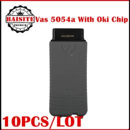Wholesale Vw Uds Diagnostic - Wholesale Price!!10pcs lot vas 5054A ODIS v3.0.3 Bluetooth Support UDS Protocol VAS5054A Full Chip OKI VAS 5054 oki Diagnostic tool
